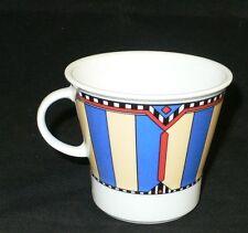 Winterling take it Times Square Kaffeetasse 0,2 lt. Streifen blau rot beige