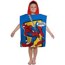 Spiderman 'Webhead' Poncho Towel Brand New Gift