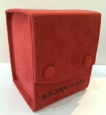 Roger Dubuis Red Service Travel watch pouches mint in Condition -