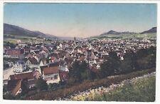 Ebingen Albstadt,Blick über die Felder auf die Stadt Feldpost 1917