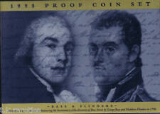 1998 PROOF MINT COIN SET - Bass and Flinders - TOP CONDITION