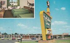 Vintage POSTCARD c1970s Holiday Inn DUNN, NC NORTH CAROLINA Unused 12770