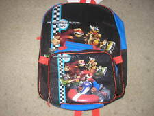 NWT Super Mario Kart Wii Backpack Lunchbox Mariokart