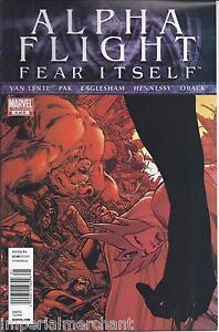 Alpha Flight Comic 4 Cover A First Print 2011 Fred Van Lente Greg Pak Eaglesham