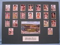 Milwaukee Braves - 1957 World Series Champions