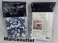 Ralph Lauren Home Dorsey STANDARD Pillowshams Set Blue / White