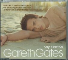 GARETH GATES - SAY IT ISN'T SO 2003 UK 3 TRACK ENHANCED CD SINGLE
