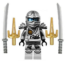 NEW LEGO NINJAGO TITANIUM NINJA MINIFIG zane figure minifigure 70748