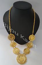 Tugra Coins Chain Ceyrek 22 carat gold plated TüM Altin Kaplama Taki Kolye Dügün