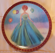 The 1963 Barbie Senior Prom Limited Edition Plate The Danbury Mint 1990