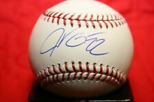 JASON KIPNIS AUTOGRAPHED SIGNED MAJOR LEAGUE BASEBALL OML CLEVELAND INDIANS COA