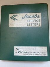 Jacobs Service Letters & Instruction Manuals, 1966 Deroit 71 and Cummins Nh