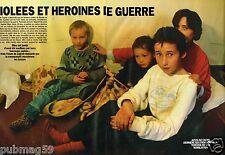 Coupure de presse Clipping 1993 (8 pages) Bosnie ,les femmes violées heroines