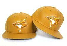 New Era Wheat Leather Toronto Blue Jays 9fifty Snapback Hat