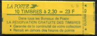 France Carnet Moderne N°2614-C1 Confectionneuse N°6 NEUF ** LUXE