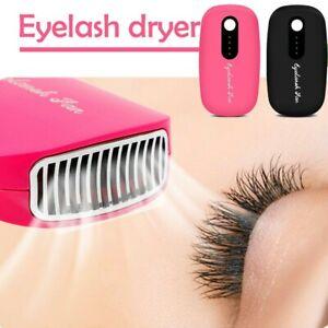 Professional Fast Fan Air Blower Eyelash Extension Glue Dryer False Lash Makeup