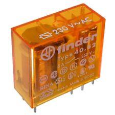 F4052-ac230 range -/print-relais 230v ~ 2xum 28 Kohm 250v ~/5a Finder 40.52.8.230