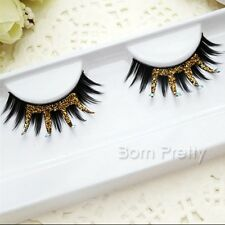 1 Pair Makeup Cosmetic Party Style Crown Shape Fake False Eye Lashes Eyelash