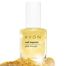 2 x Avon Nail Experts Gold Strength Nail varnish Base coat strengthener 12ml new