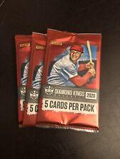 (3) Pack Lot Of 2020 DIAMOND KINGS BASEBALL Packs! NEW FROM BOX!