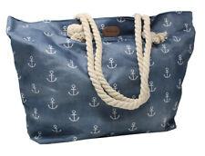 Strandtasche Beach Bag Schwimmbad Tasche Saunatasche Strandtasche maritim Anker
