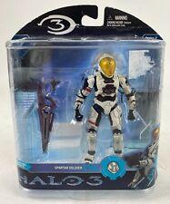 "Halo 3 Series 2 SPARTAN SOLDIER EVA White 5"" Action Figure McFarlane 2008"