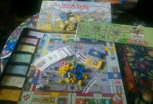 2001 Simpsons Monopoly Replacement Game Pieces Board Deeds Houses Pewters