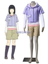 Boruto Naruto The Movie Hyuga Hinata Mother Suits Anime Cosplay Costume
