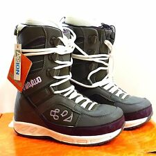 NOS Thirty Two Exus Womens Size 9.5 Grey over Purple Snowboard Boots