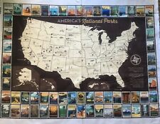 ****National Park USA Map Panel Riley Blake -Just Released— In Stock