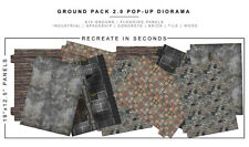 """Extreme-Sets Ground Pack 2.0 1/12 Scale Diorama for 6""""– 7"""" Action Figures"""