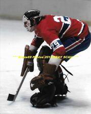 KEN DRYDEN Defends The NET 8x10 Photo MONTREAL CANADIENS HOF Goalie GREAT WoW