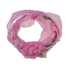 Écharpes et châles foulard rose à motif Floral pour femme
