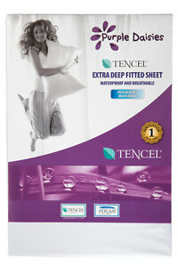 Waterproof Extra Deep Sheet(s) For Cotbeds & Single & Double & King Size Beds