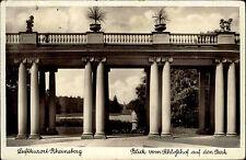 RHEINSBERG Mark Brandenburg AK um 1930 Park Schloss Schlosshof AK gebraucht