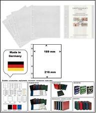 1 LOOK 304653-1 SAMMELHÜLLEN NUMOH 1C NH1C 169x216mm Für ETB Ersttagsblätter