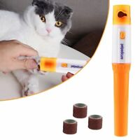 Electric Nail Trimmer For Cats Claw Grinder Scissors Professional Clippers File