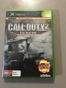 Call Of Duty 2 Big Red One Collectors Edition - Rare Xbox Game Collector's E COD