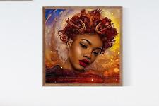 Melanin Queen, Art Print