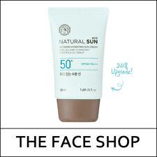 [THE FACE SHOP] Sample Natural Sun Eco No Shine Hydrating Sun Cream 50ml/S둘