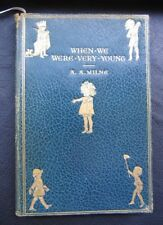16th Edition 1927 When We Were Very Young Pooh Book Milne METHUEN EH Shepard