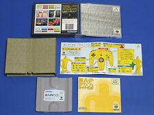 Nintendo 64DD Kyojin no Doshin Doshin The Giant Import Japan N64 Nintendo 64