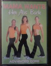 MAMA WANTS HER ABS BACK ADVANCED CORE DVD By Lisa Druxman