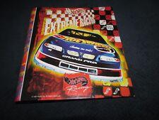 1997 HOT WHEELS EXTREME RACING 3-ring Binder, notebook & Kyle Petty folders