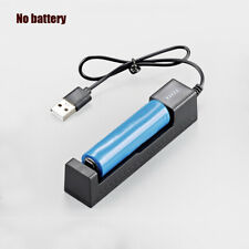 Universal USB LCD Smart Battery Charger For 18650 Rechargeable Li - Ion Battery