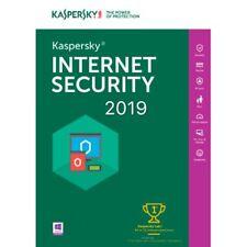 KASPERSKY INTERNET SECURITY 2019 1 PC/ User / 1 Device /1 Year/ Global Key 9.30$