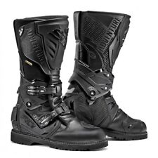 SIDI Adventure 2 BOOTS With GTX Black Size 45 Motorcycle Tour Enduro Waterproof