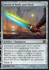 Sword of Body and Mind // FOIL // Presque comme neuf // Scars of Mirrodin // Engl. // Magic