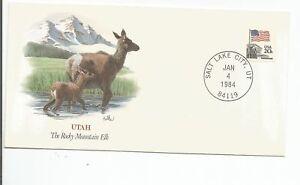 Baby Wildlife of the 50 States - Fleetwood - Utah - Rocky Mountain Elk  #RACC
