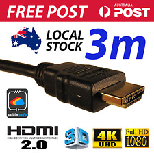 3M HDMI Cable v2.0 4K UHD 2160p 1080p 3D High Speed With Ethernet FAST FREE POST